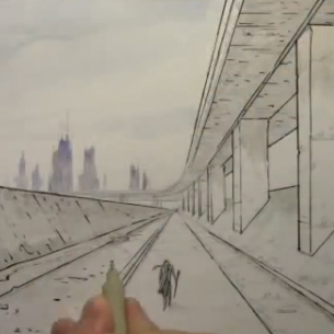 305x305 Comic Book Video Tutorials Draw Backgrounds In 1 Point Perspective