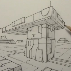 290x290 Comic Book Video Tutorials Drawing 2 Point Perspective Backgrounds
