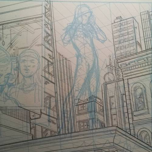 500x500 Drawing Up Some More Astro City Backgrounds!