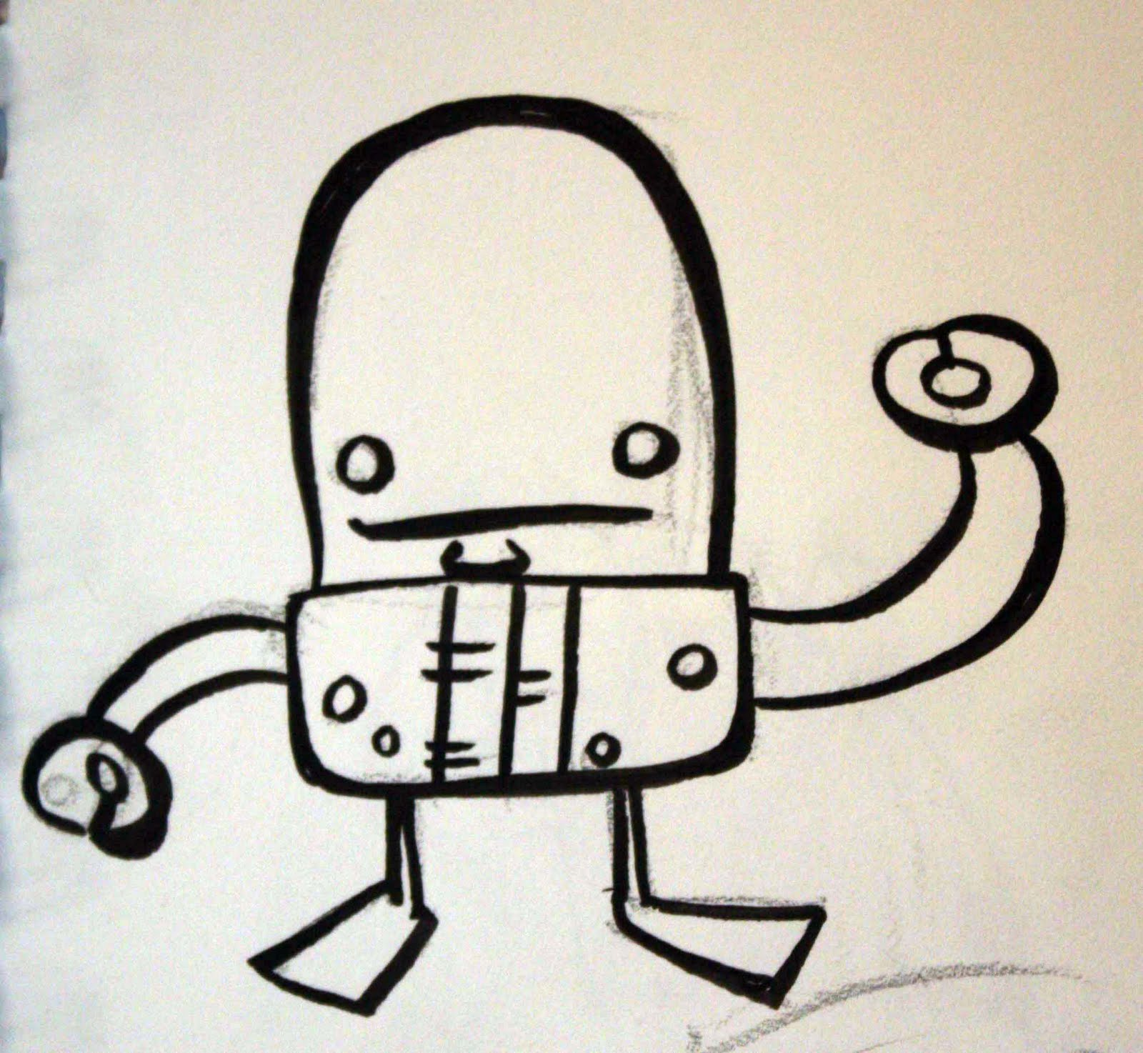 1600x1474 A Million Bad Drawings Bad Robot! (Drawing