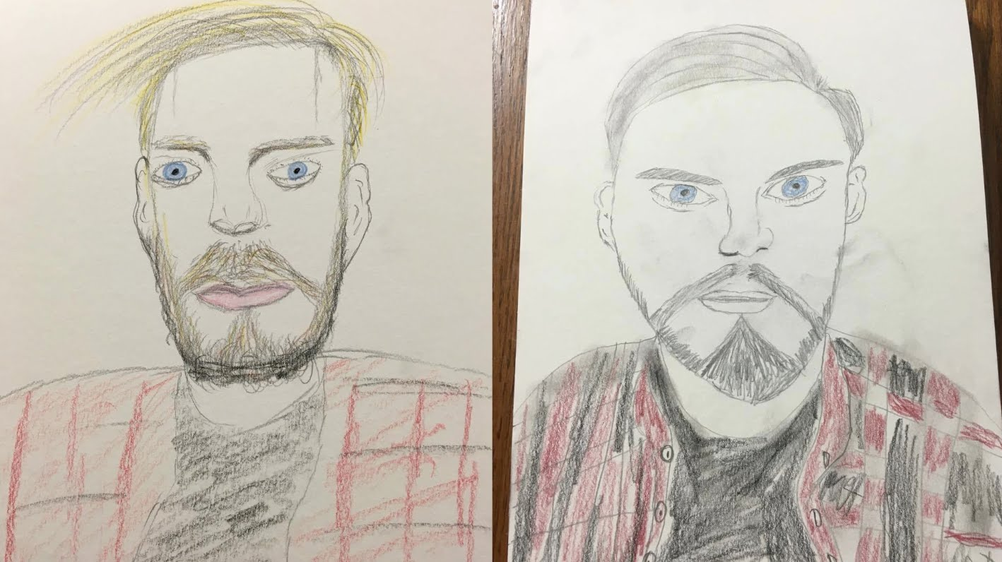1418x796 DRAWING FAMOUS YOUTUBERS (A BAD DRAWING)