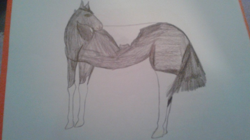 1024x576 Really bad drawing of my mare by LovingLifeInDisarray on DeviantArt
