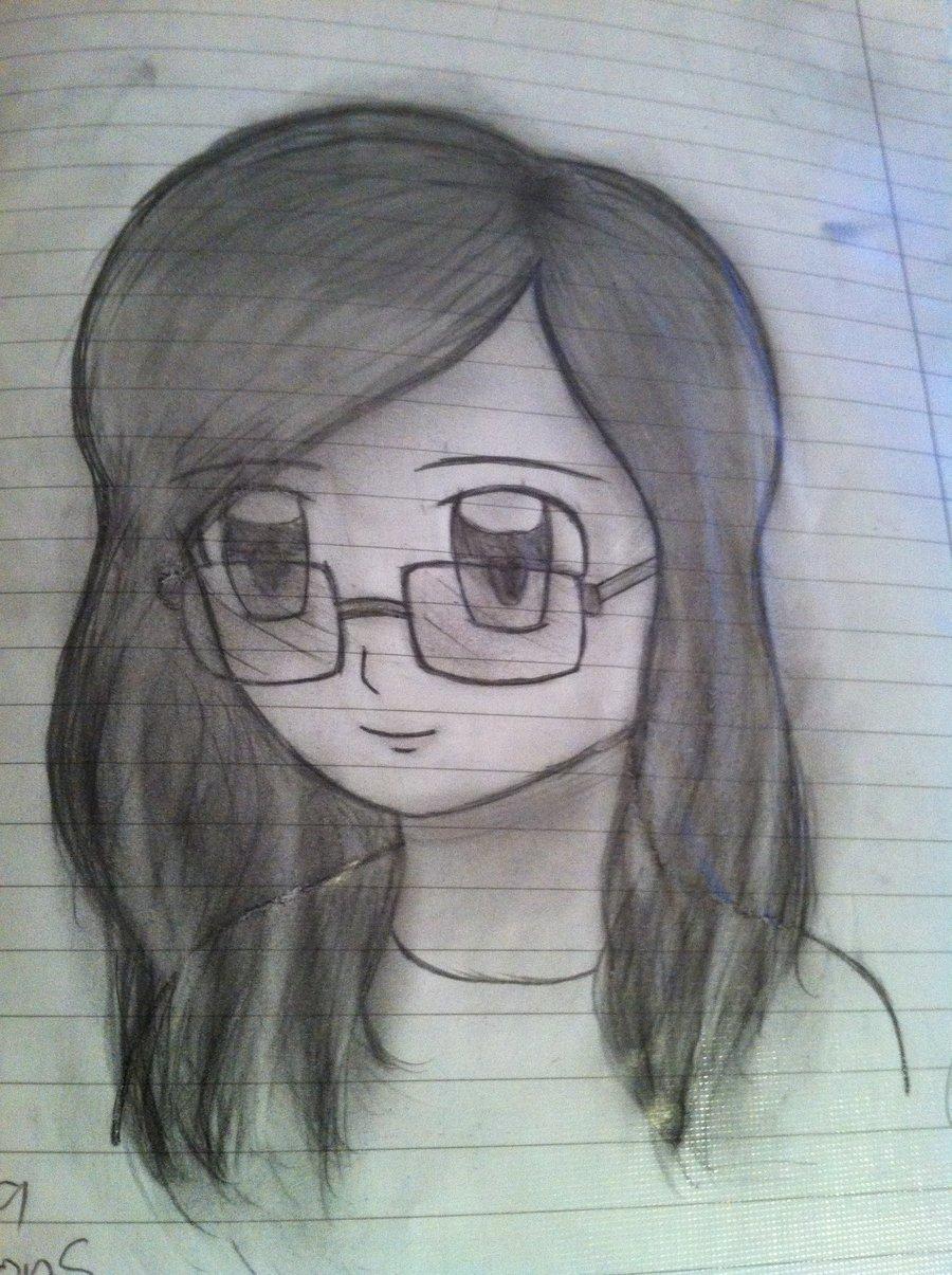900x1205 My Bad Anime Drawings By Geekyeffy