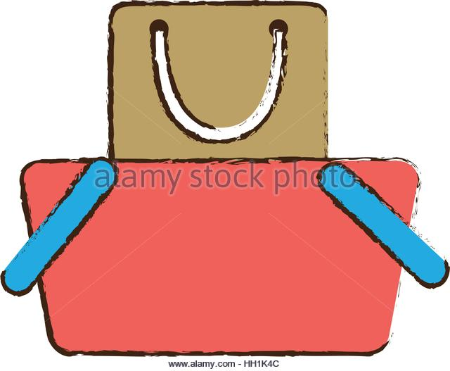 640x527 Gift Bag Drawing Shopping Stock Photos Amp Gift Bag Drawing Shopping