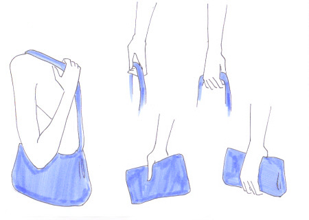 450x320 How To Draw A Bag I Draw Fashion