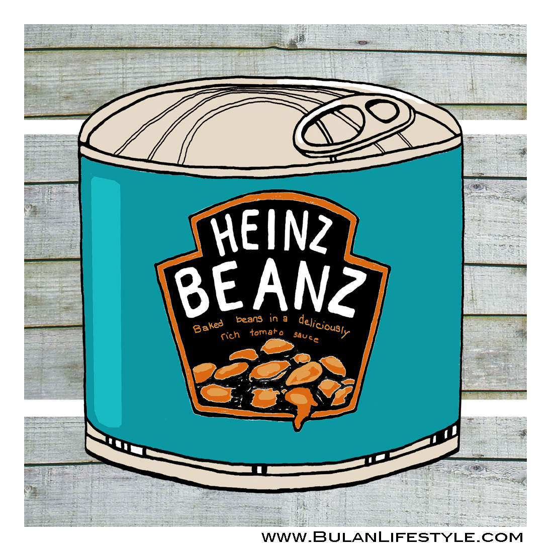 1098x1098 Sketch Of The Day No 292 Breakfast Classic, Heinz Baked Beans