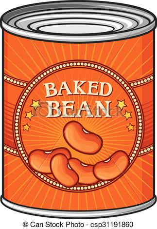 323x470 Tin Of Baked Beans (Can Of Baked Beans) Clip Art Vector