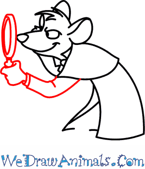 300x350 How To Draw Basil Of Baker Street