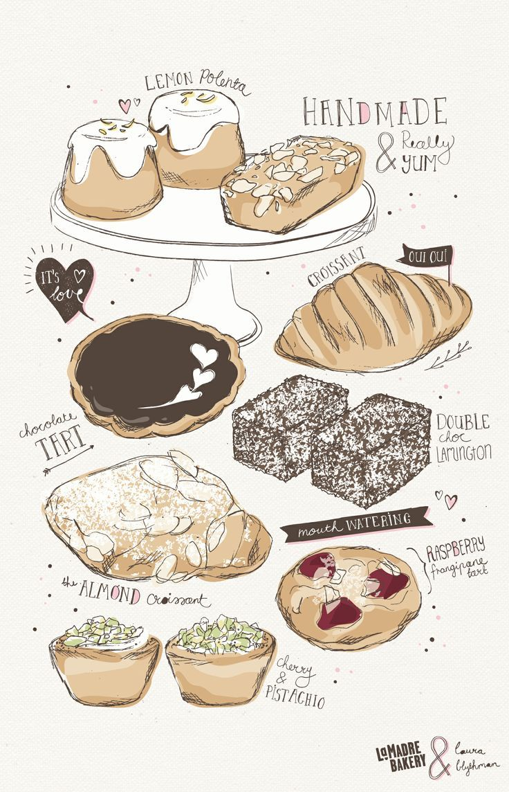 736x1144 Bakery Drawings Ltdrawgt Bakeries, Draw And Artsy