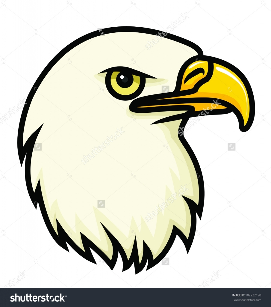 Bald Eagle Easy Drawing at GetDrawings.com | Free for personal use ...
