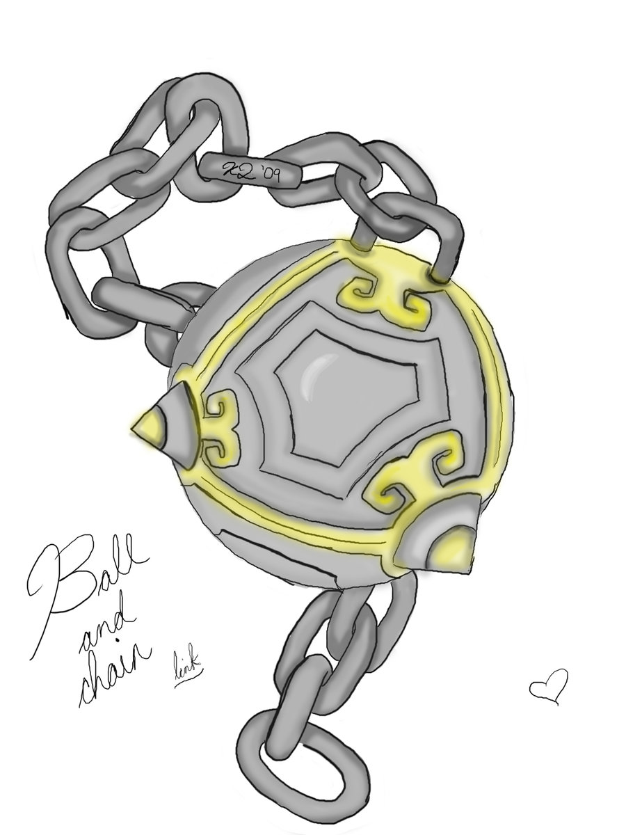 900x1200 Legend Of Zelda Ball And Chain By Twilightxprincess
