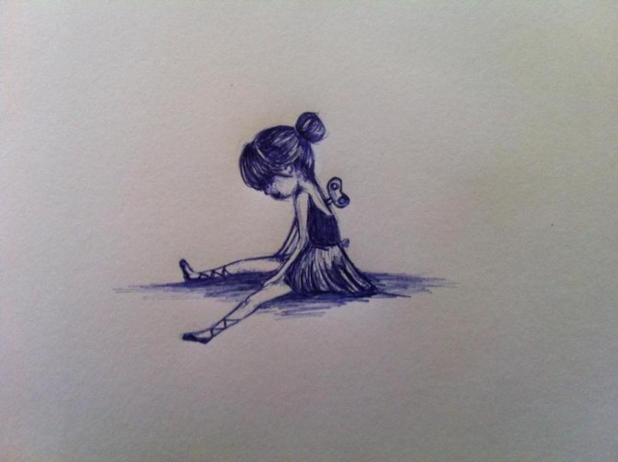 900x673 Tired Ballerina. Life People. Drawings. Pictures. Drawings Ideas