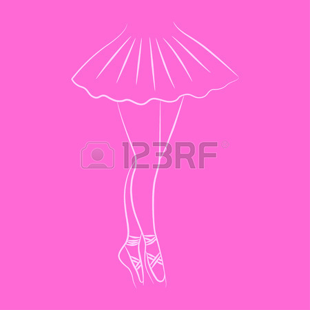 450x450 888 Ballerina Feet Stock Illustrations, Cliparts And Royalty Free