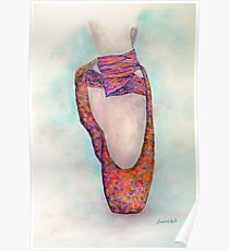 210x230 Ballerina Feet Drawing Posters Redbubble