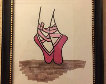 340x270 Ballerina Feet Stars