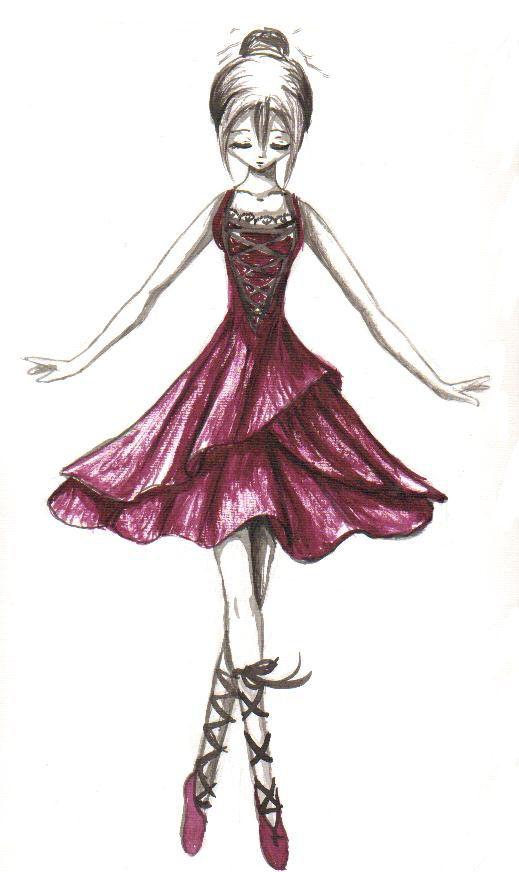 519x872 Anime Ballerina