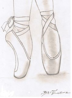 236x319 How To Draw A Ballerina Shoe