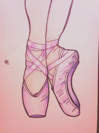 320x427 Pointe Drawings On Paigeeworld. Pictures Of Pointe