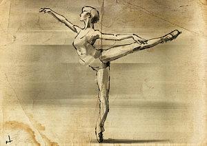 300x212 Ballet Dancer Drawings Fine Art America