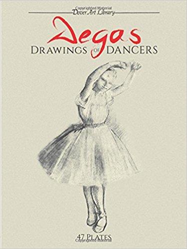 375x499 Degas' Drawings Of Dancers (9780486406985) Edgar
