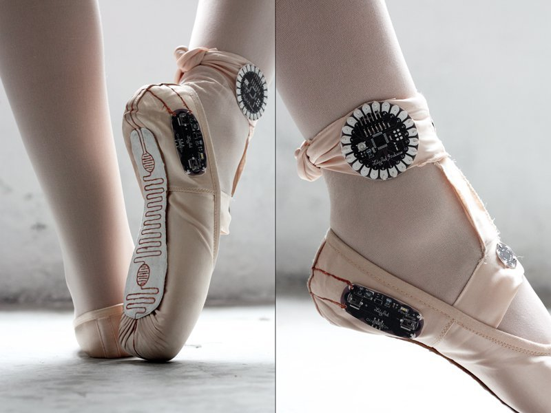 800x600 Ballet Slippers That Make Drawings From Movement Make