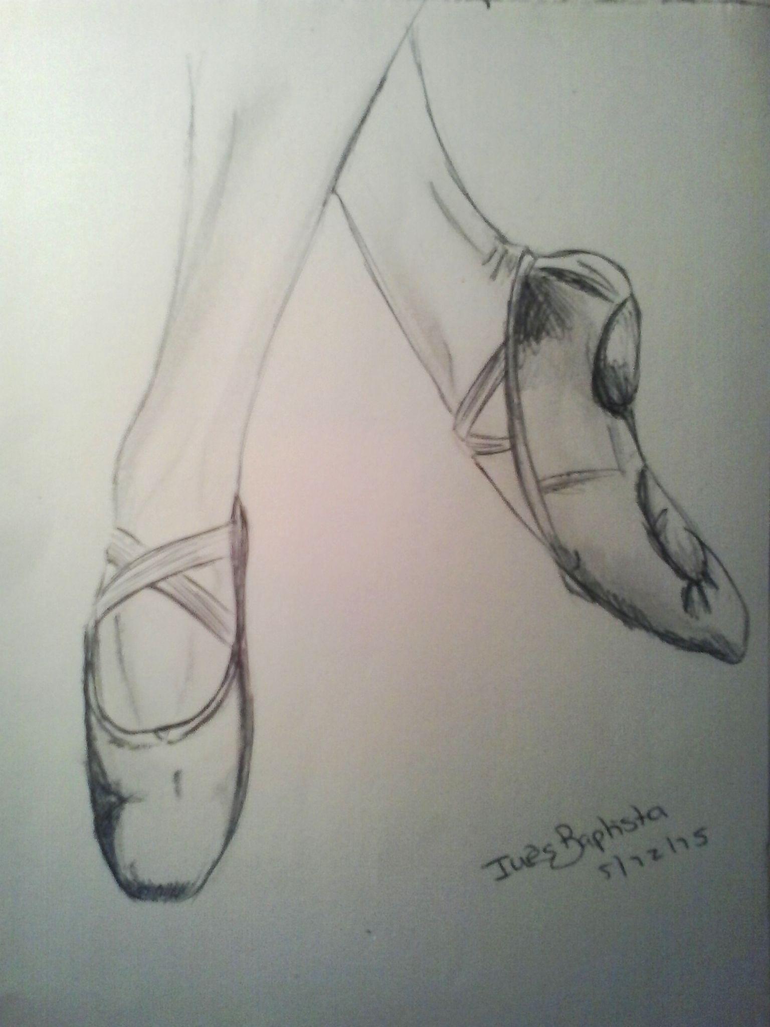 1536x2048 Ballet Shoes Drawings Ballet Shoe