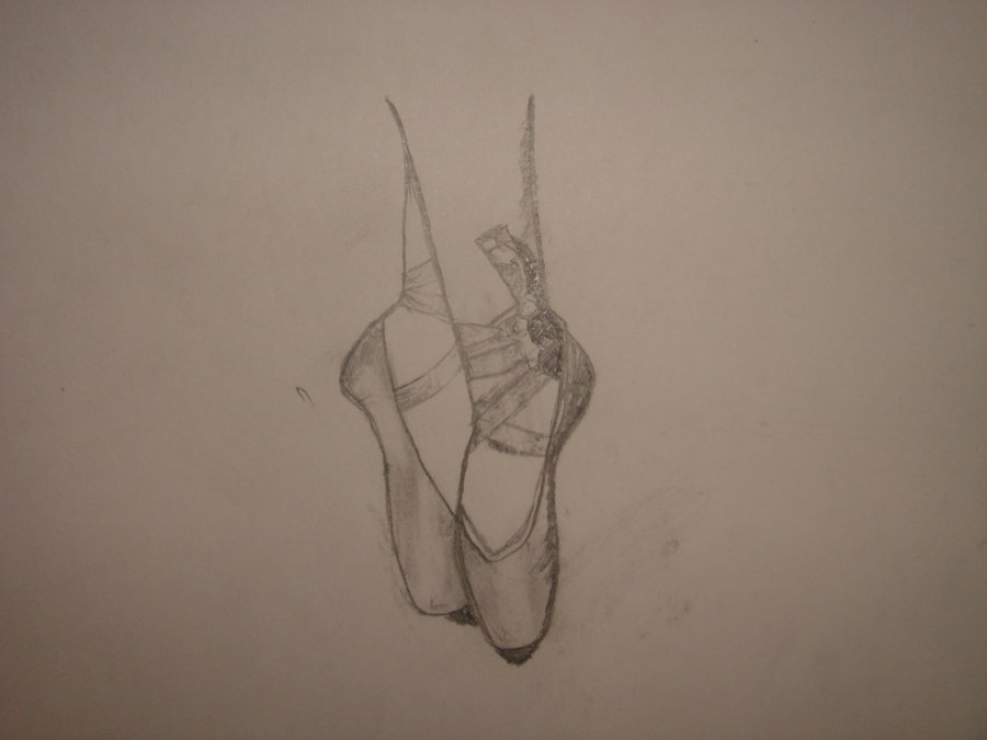 900x675 Sketch Ballet Shoes By The Names Maia