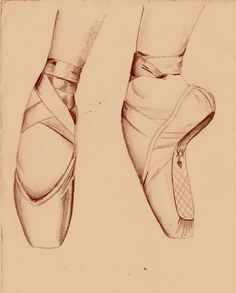 236x293 Ballet Shoes Drawing
