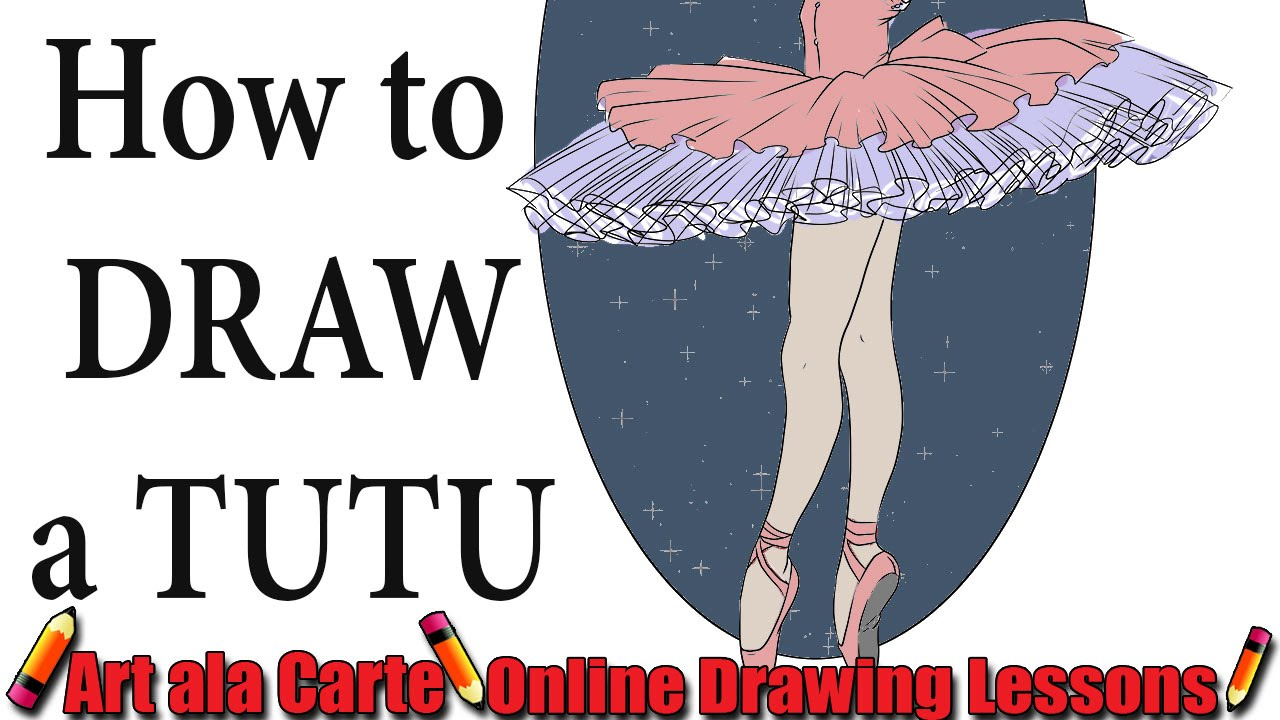 1280x720 How To Draw A Ballet Tutu