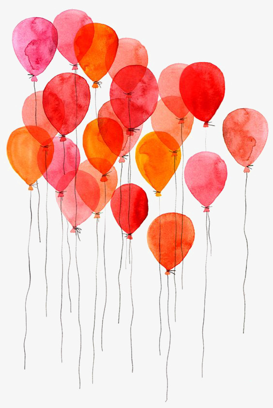 564x841 Drawing Balloons, Colored Balloons, Creative Balloons, Floating