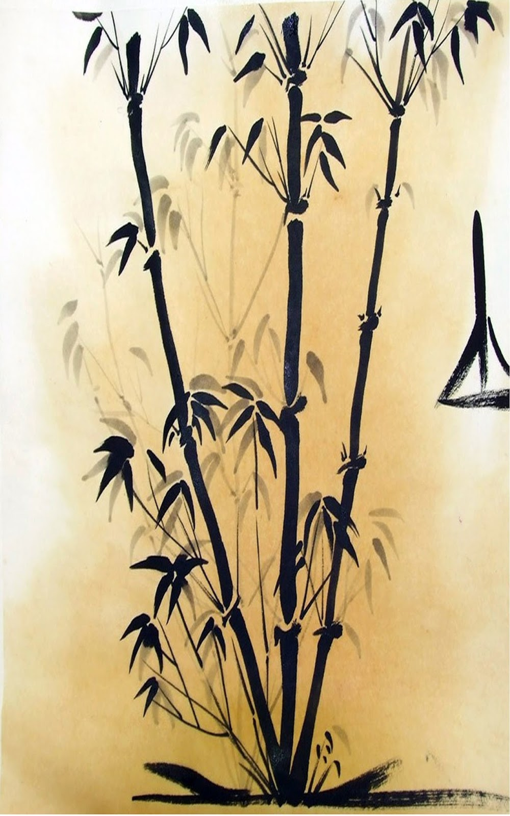Bamboo Tree Drawing at GetDrawings.com | Free for personal use ...