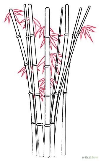 342x549 Draw Bamboo Cartoon, Drawings And Doodles