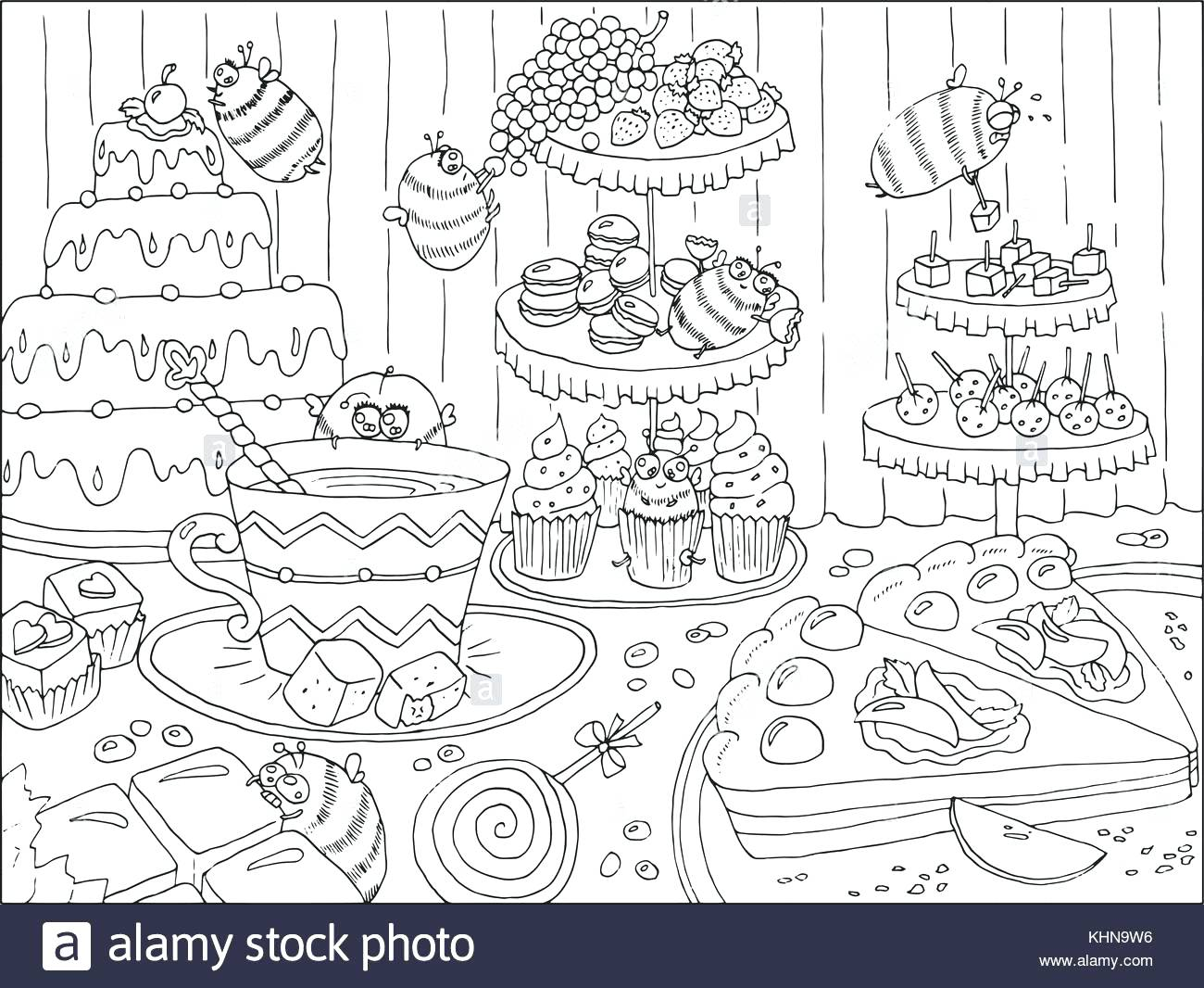 1300x1066 Yummy Banana Bunch Coloring Pages Online Christmas Free Images