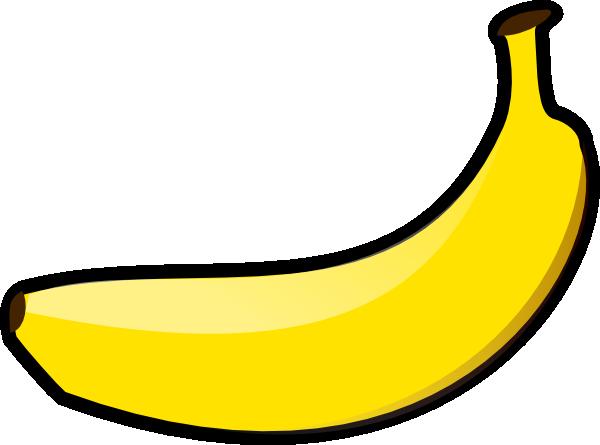 600x445 Banana Clip Art
