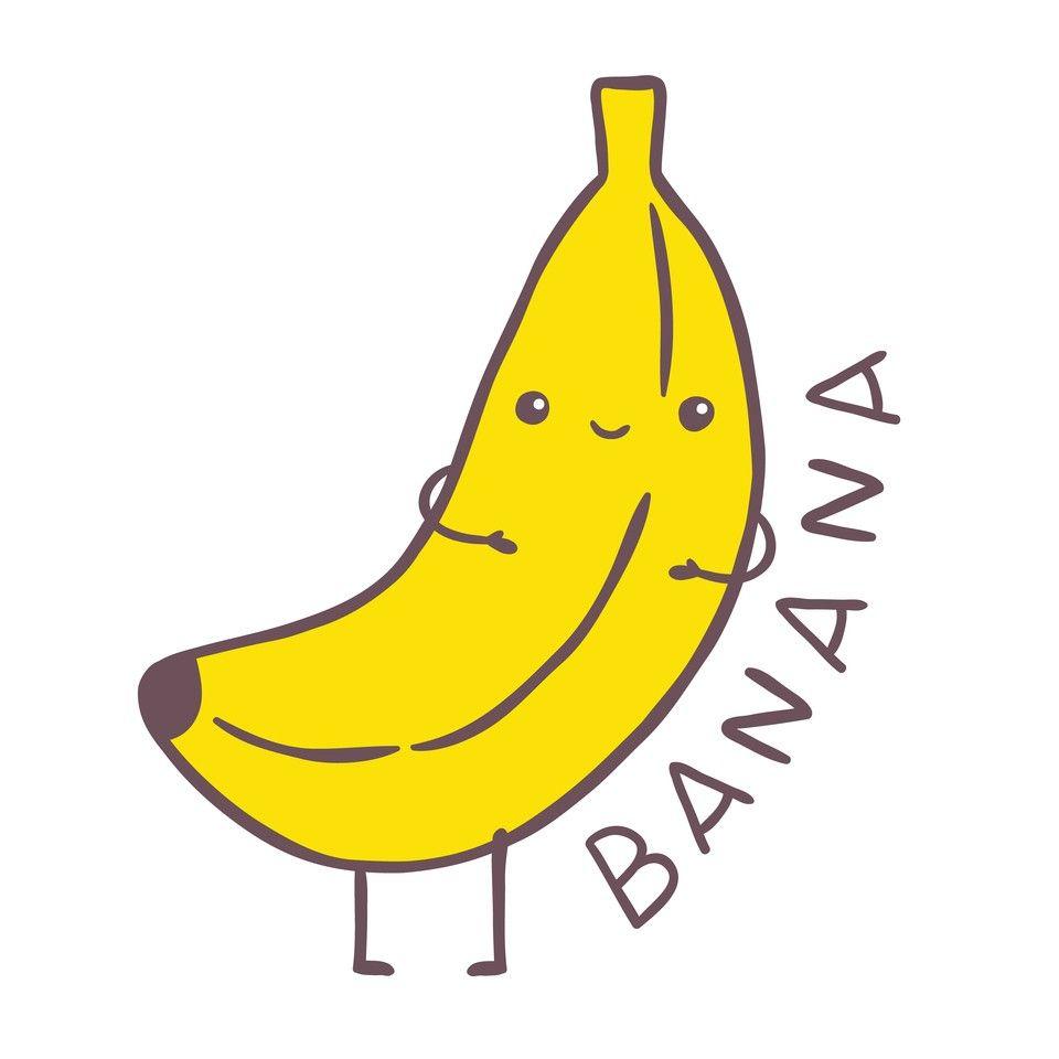 960x960 Cute Banana Cartoon