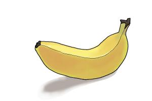 300x200 How To Draw A Banana