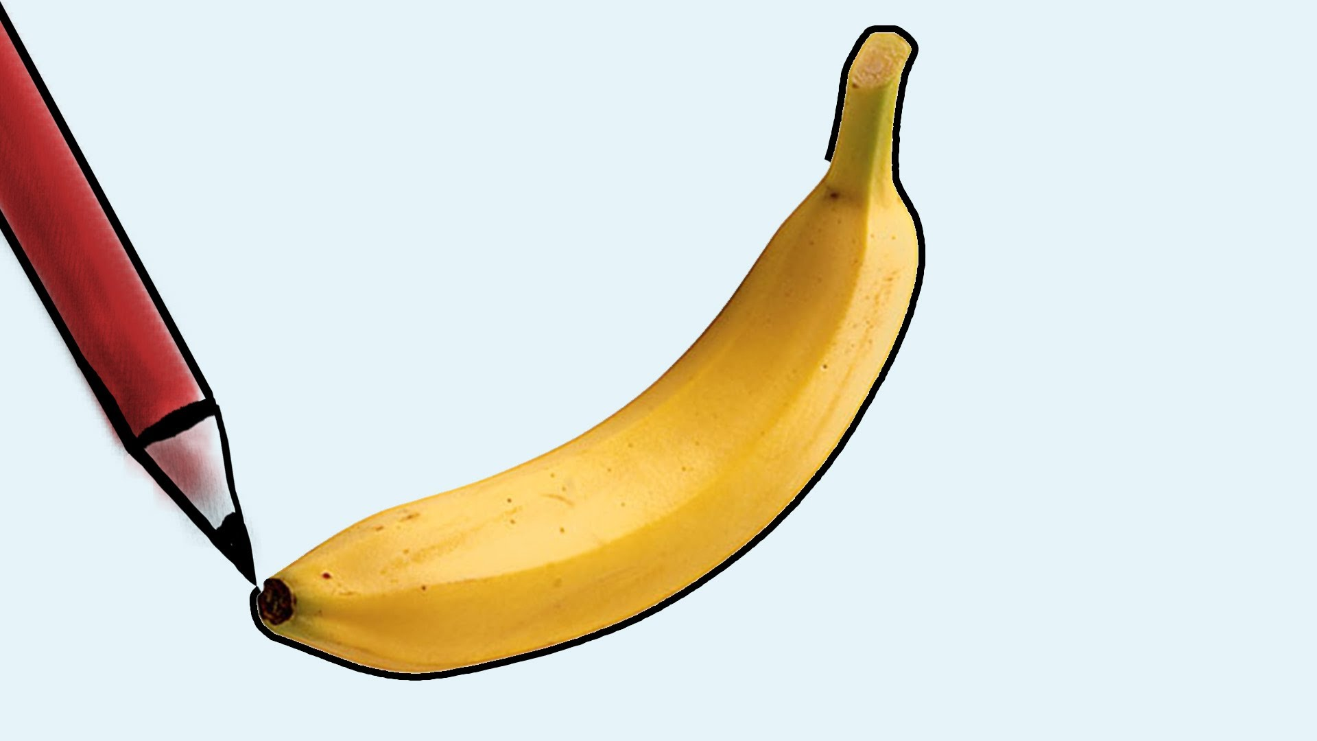 1920x1080 How To Draw A Banana