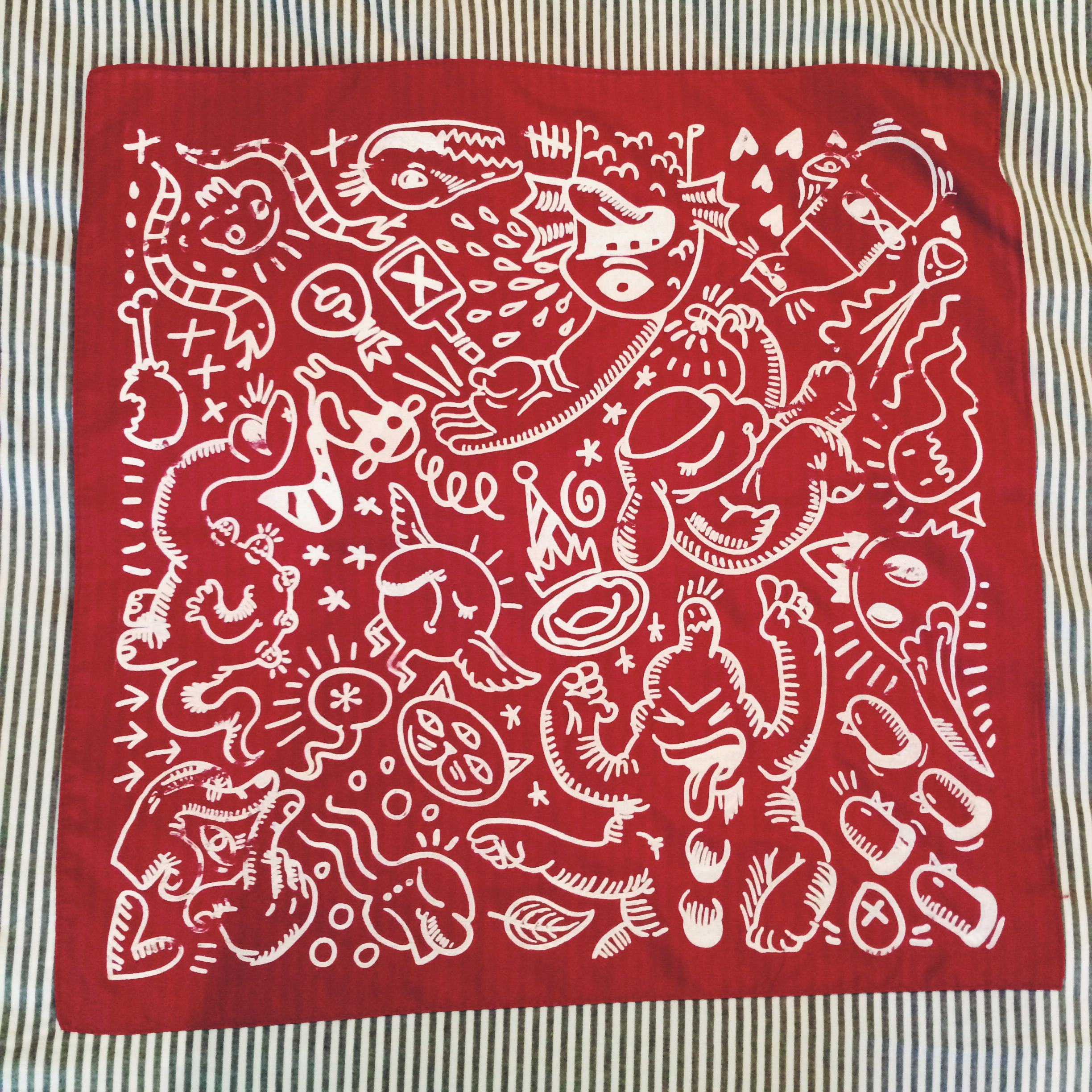 2448x2448 Design Number 3 Of 5. This Is A Handkerchief Bandana I Made By