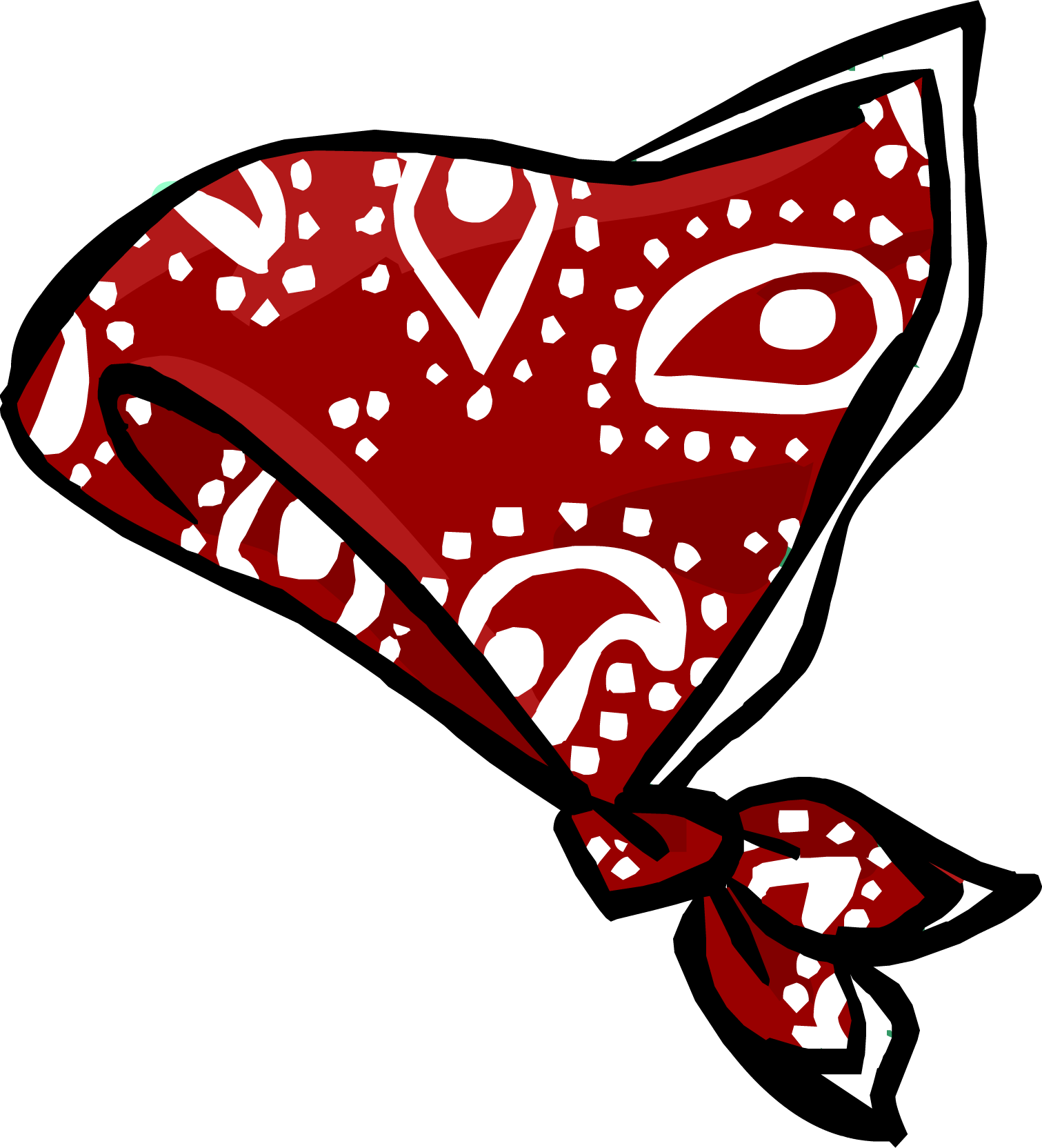 1511x1664 Red Paisley Bandanna Club Penguin Wiki Fandom Powered By Wikia