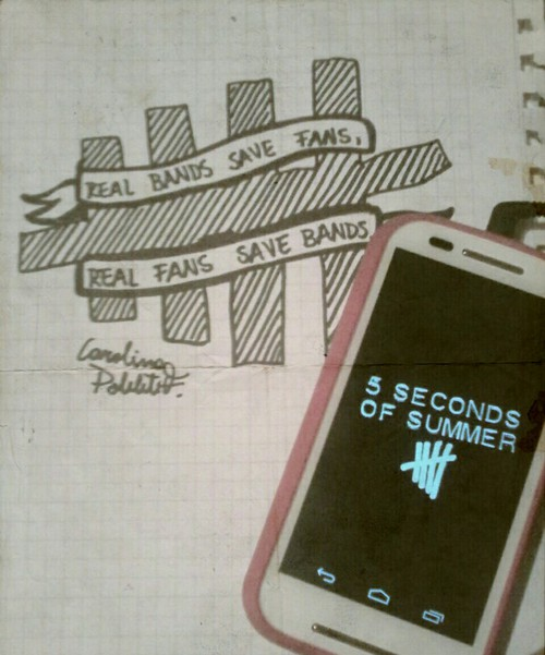 500x601 Real Bands Save Fans, Real Fans Save Bands. On We Heart It