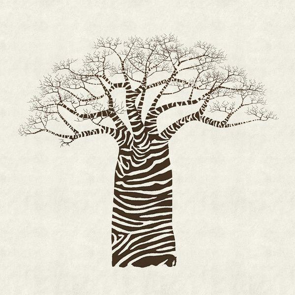 600x600 Zebra Baobab Baobab Trees Tattoo, African Art