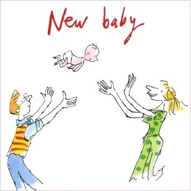 275x275 Quentin Blake Baby Drawing! Babies And Kids Baby