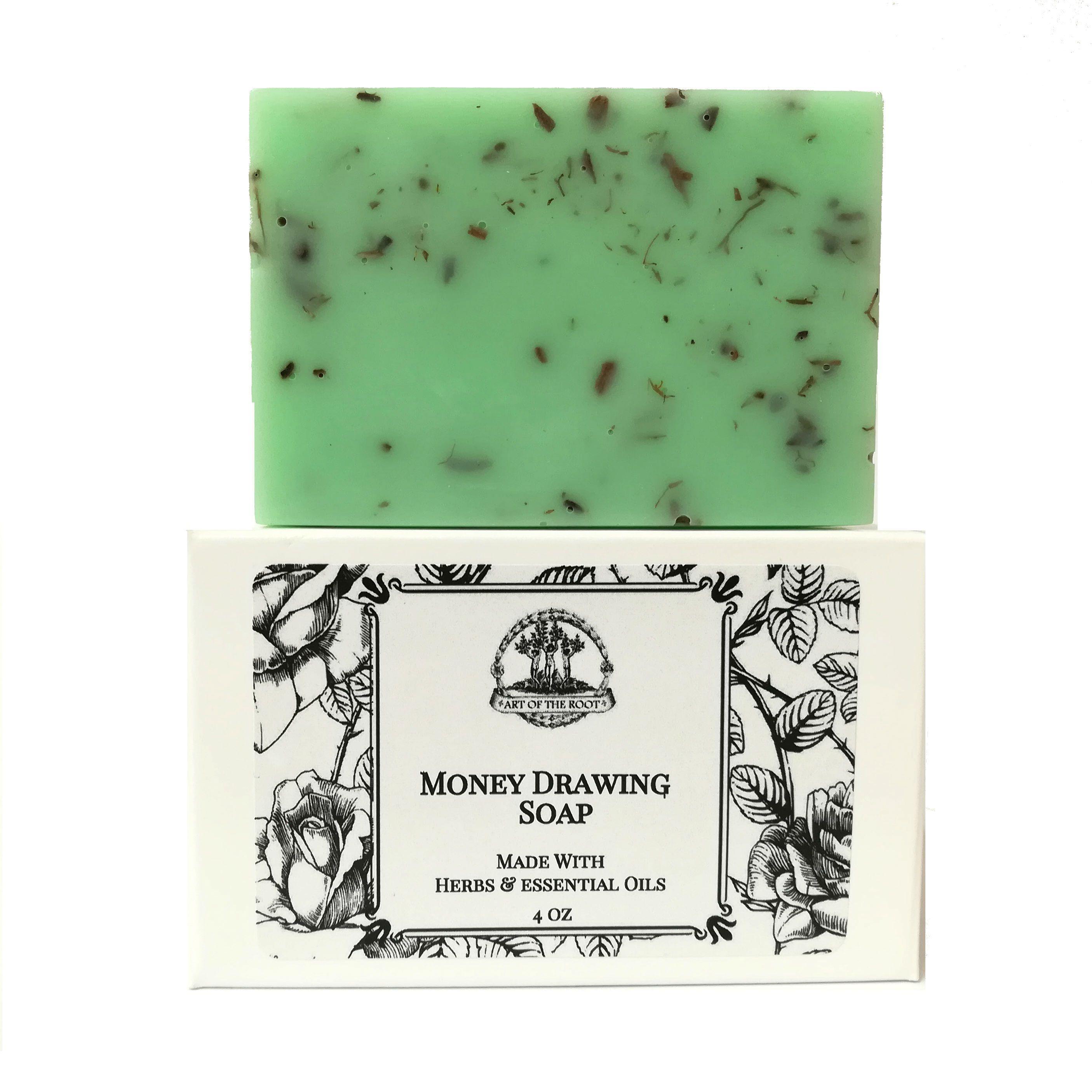 2811x2811 Money Drawing Shea Herbal Soap Bar For Wealth, Prosperity, Cash Amp Bett
