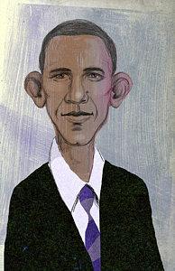 194x300 Barack Obama Drawings Fine Art America
