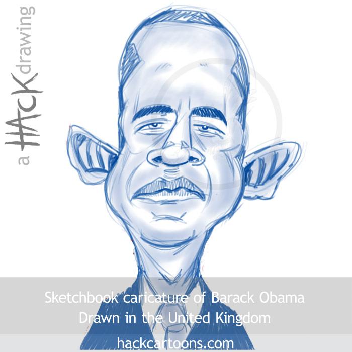 700x700 From The Sketchbook Barack Obama