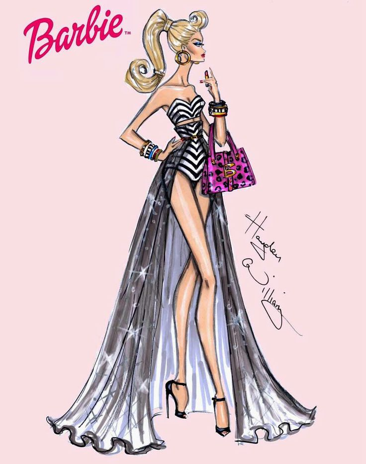 736x932 76 best MY BARBIE images on Pinterest Fashion drawings, Fashion