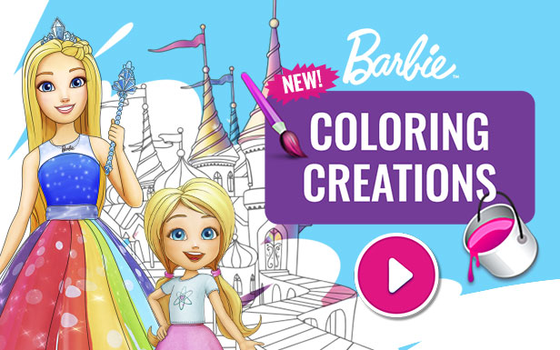 616x385 Coloring Creations Game Barbie