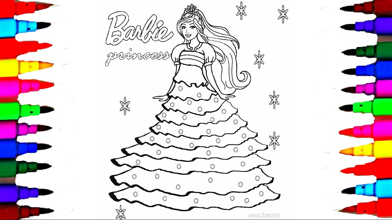 Barbie Drawing Pages at GetDrawings.com | Free for personal use ...