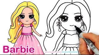 Barbie Easy Drawing At Getdrawings Com Free For Personal Use