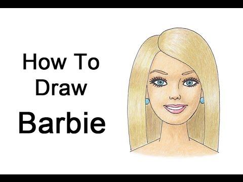 480x360 How To Draw Barbie